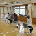 横浜市若葉台地域ケアプラザ 70歳以上対象ヨガ