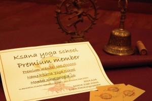 プレミアム会員 kSaNa Yoga School 『ヨガが生活の一部』